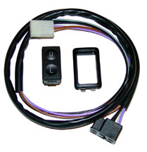 SPAL Illuminated Power Door Lock Switch with Harness