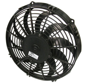 "SPAL 11"" Curved Blade Slim Fan"