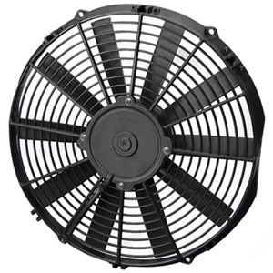 "SPAL 13"" Low Profile Straight Blade 24v Fan"