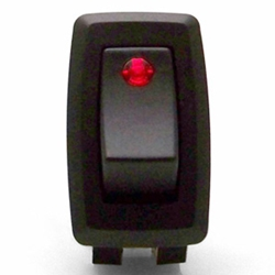 Red Illuminated Toggle Switch 12VDC