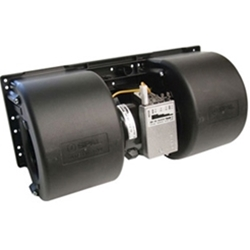 SPAL Dual Wheel 12V Blower Assembly