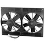 "SPAL Dual 11"" Fan with Shroud"