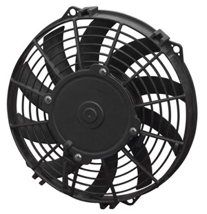 "SPAL 10"" Curved Blade Slim Fan"